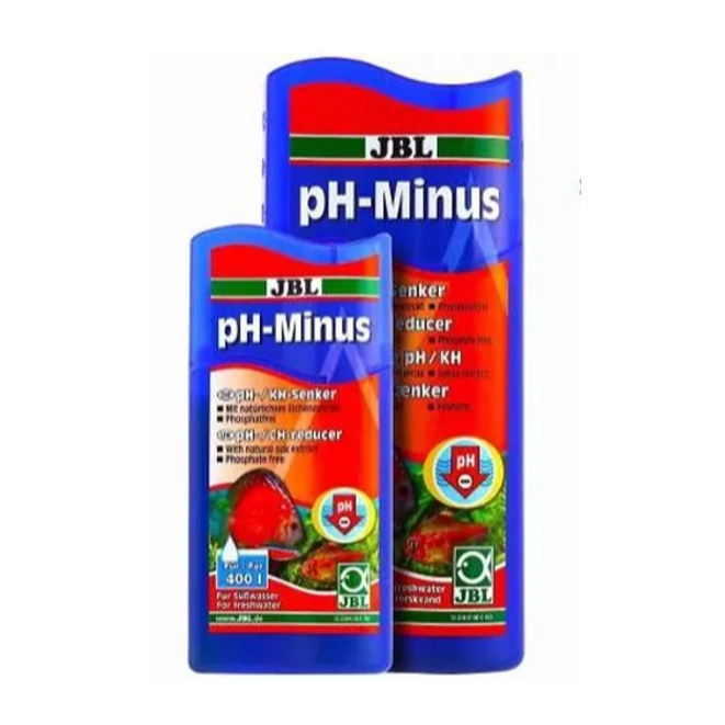 Jbl Ph Minus 100ml Acidificante Baixa Ph Aquario Doce
